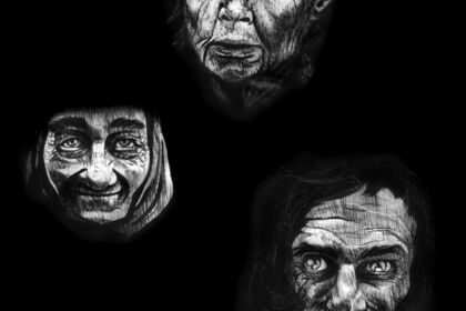 Portraits plume