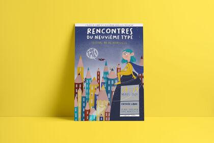 Affiche Festival de la BD de Marseille