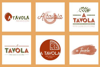 Logos pour un restaurant Italien