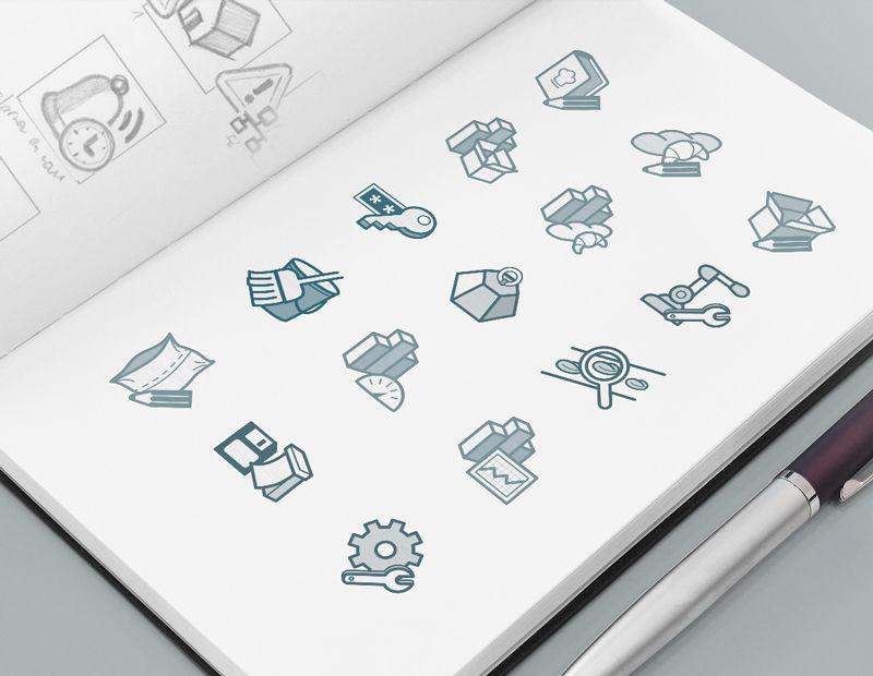 Création de pictogrammes et icônes