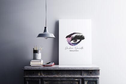 Logo et incrustation - Cabinet esthétique