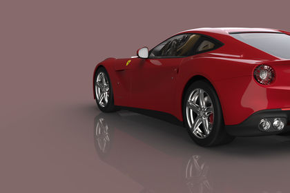 3D Ferrari Berlinetta