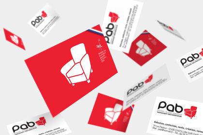 Cartes de visite PAB
