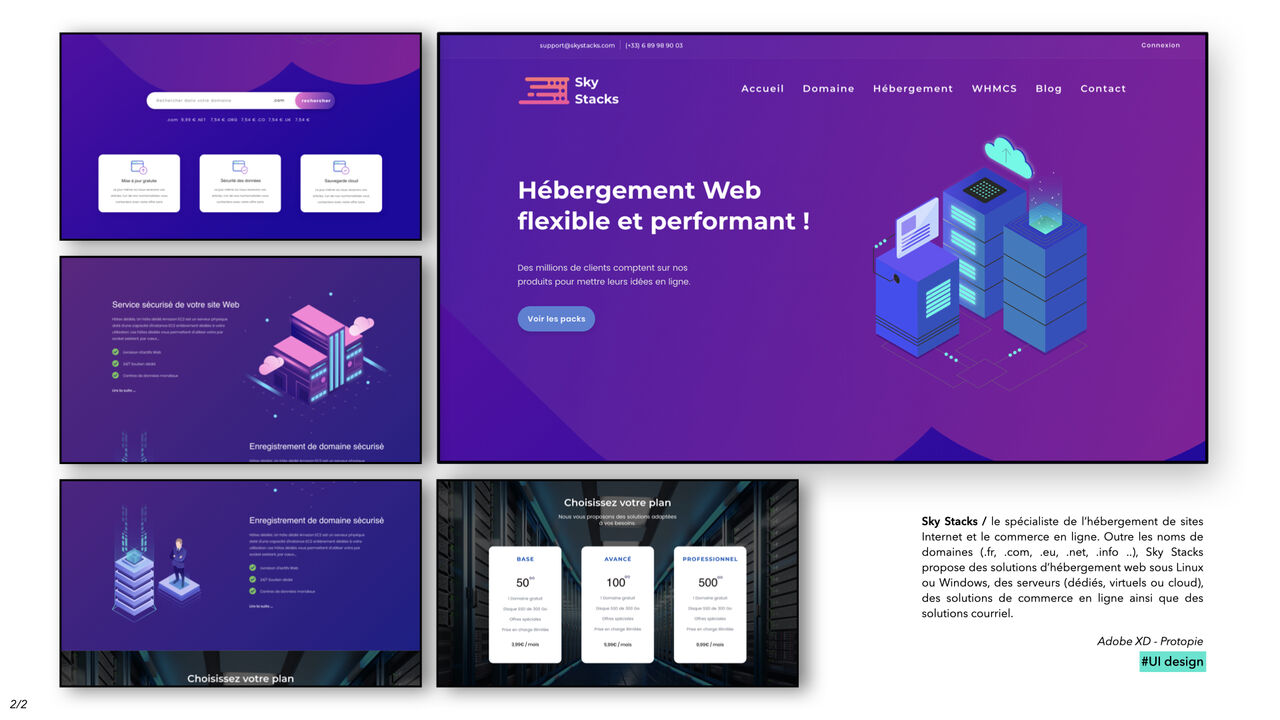 Sky Stacks - Hébergement Web