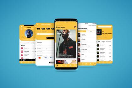 Maquette App music