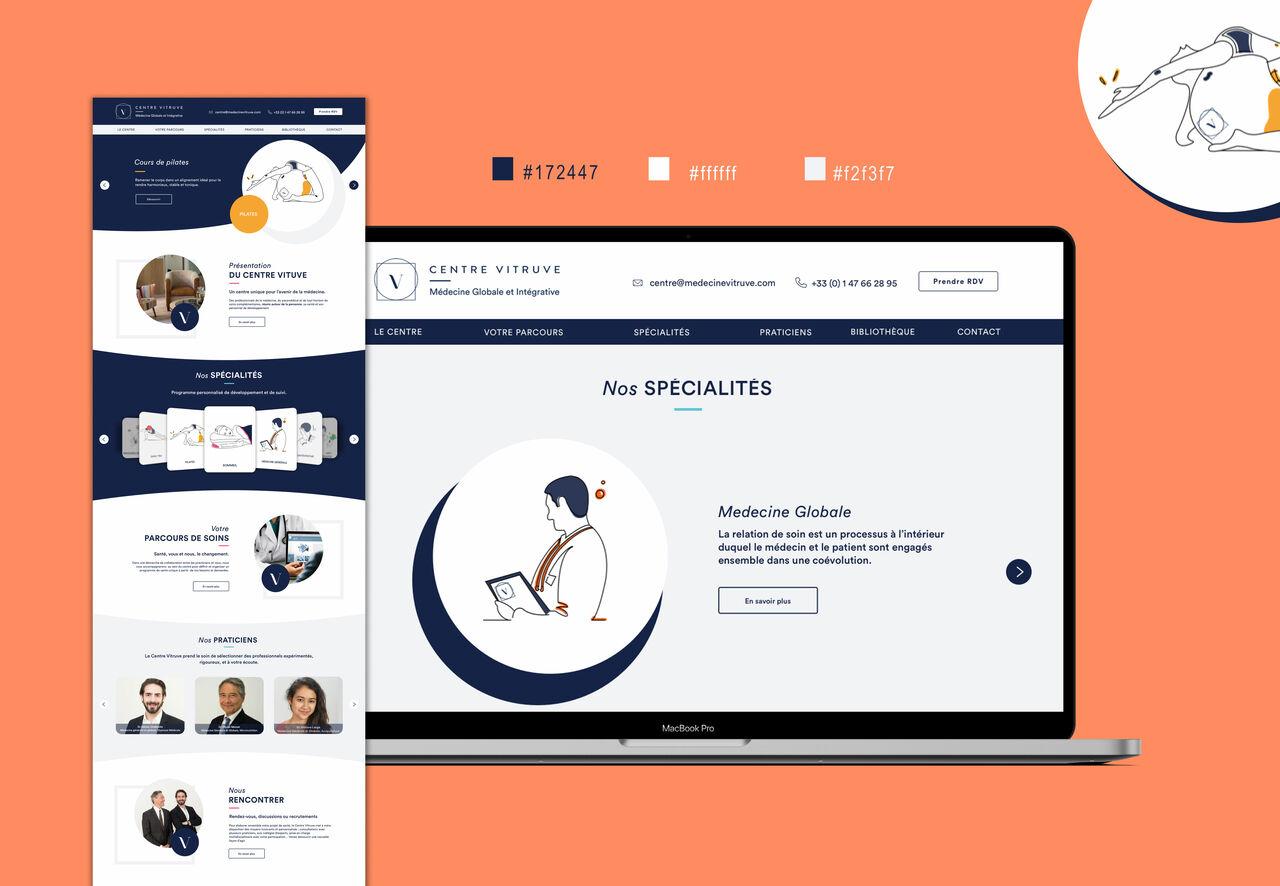 Centre Vitruve site web
