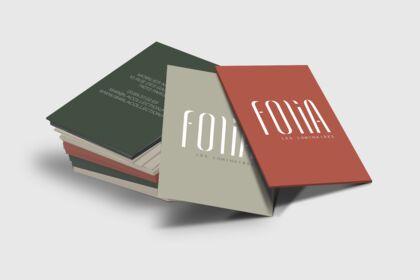 Logo, cartes de visite