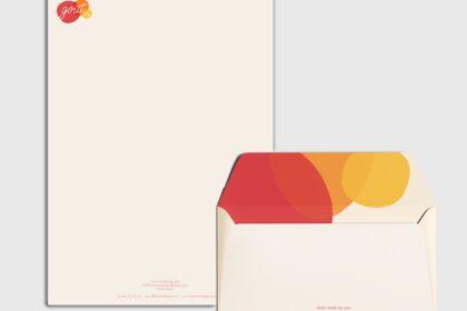 Papier à lettre restaurant