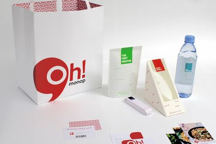 Packaging pour Monop'