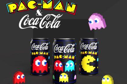 Project Fictif. Coca Cola x Pac-Man