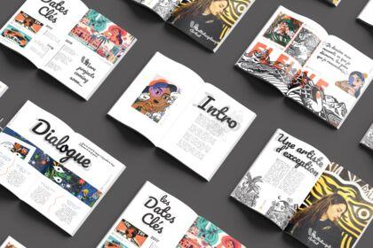 Projet fictif : Réalisation brochure, DALKHAFINE