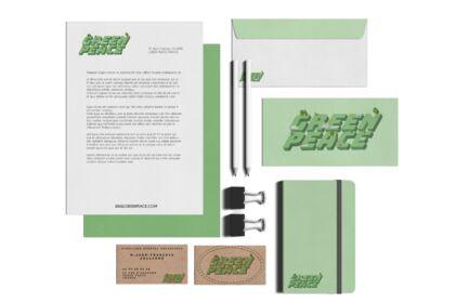 Projet fictif : Papeterie GREEN PEACE