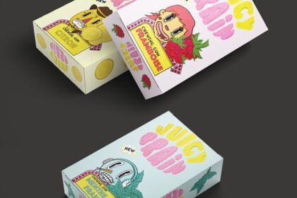 Création d'un marque de chewing-gum