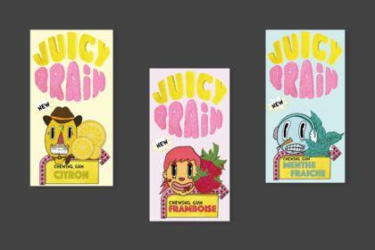 Création d'une marque de chewing-gum