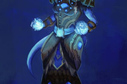 Illustration personnage de jeu vidéo