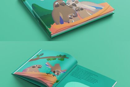 Illustration livre pour enfant