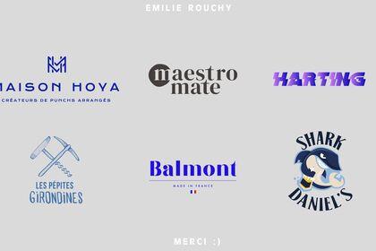 Quelques logos que j'ai réalisé