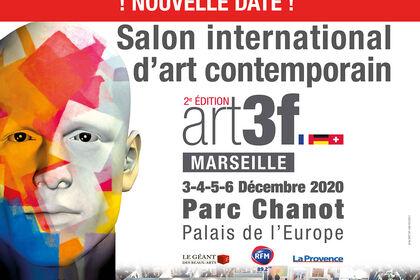 Réalisation Affiche Salon Art3F pour évènement