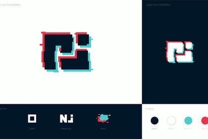 Logotype - Glitched