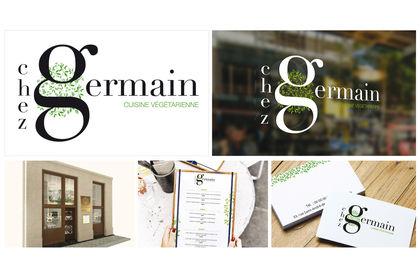 Chez Germain - Branding