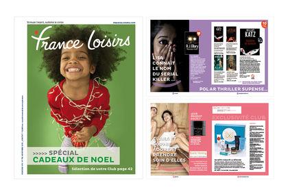 Nouveau concept du catalogue France Loisirs