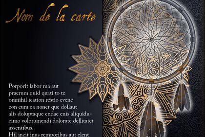 CARTE INDIENNE - 3
