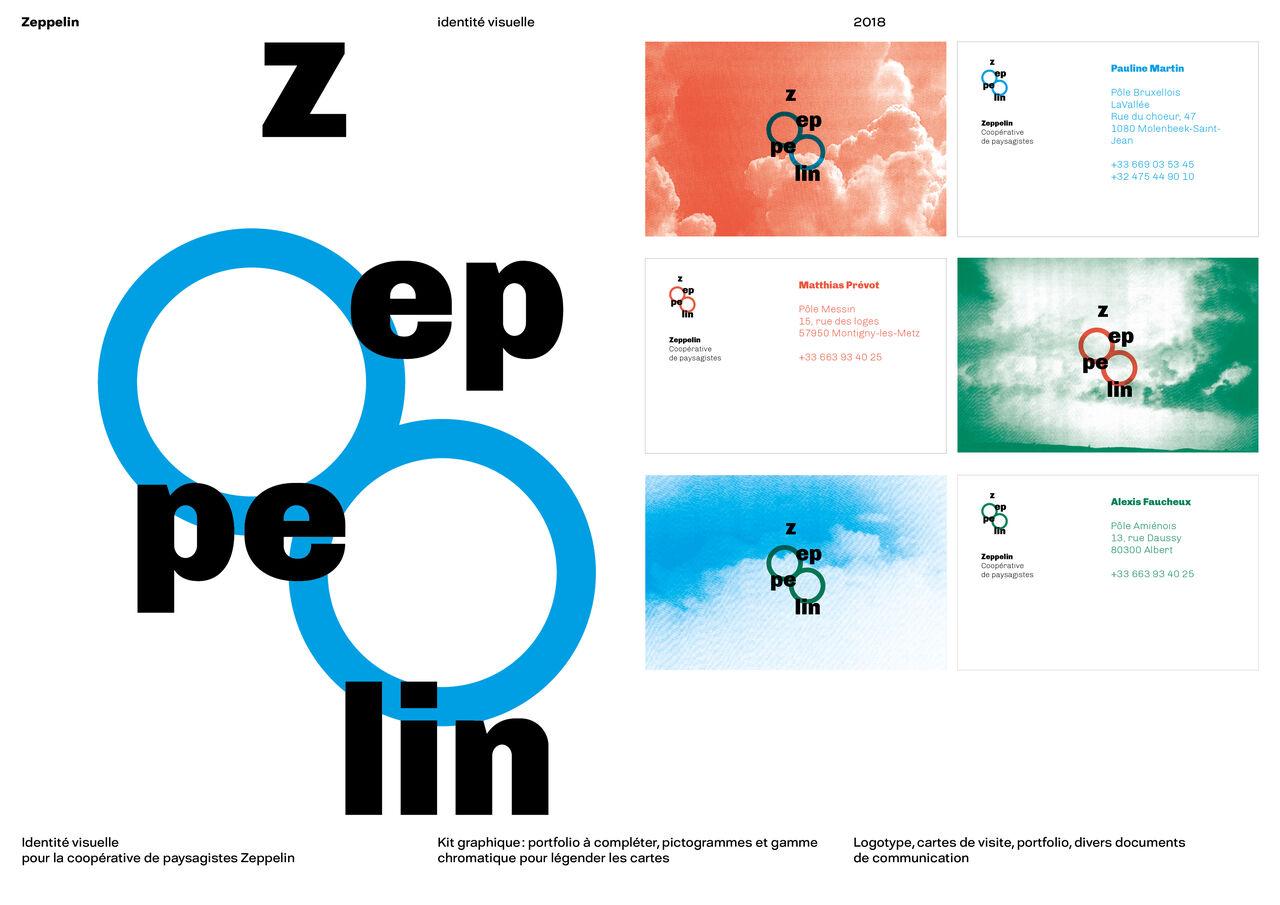 Charte graphique Zeppelin (1/3)