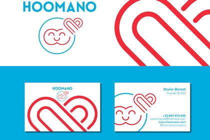 Identité visuelle pour Hoomano