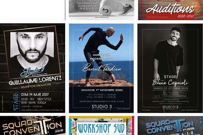 Création de flyers