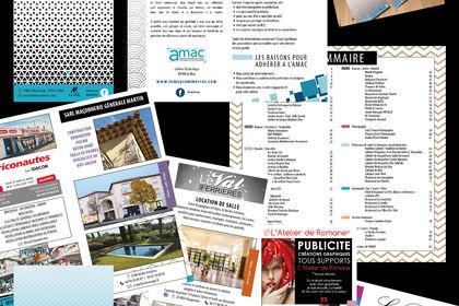 Création de brochure (livret)