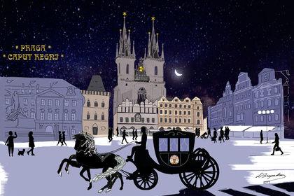 Illustration - Prague
