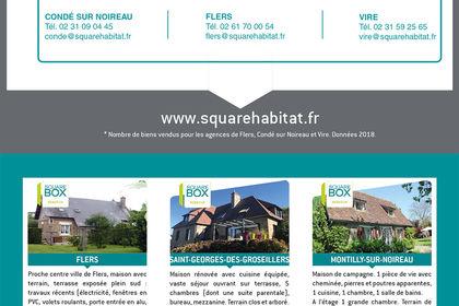 Dépliant 4 pages - Square Habitat