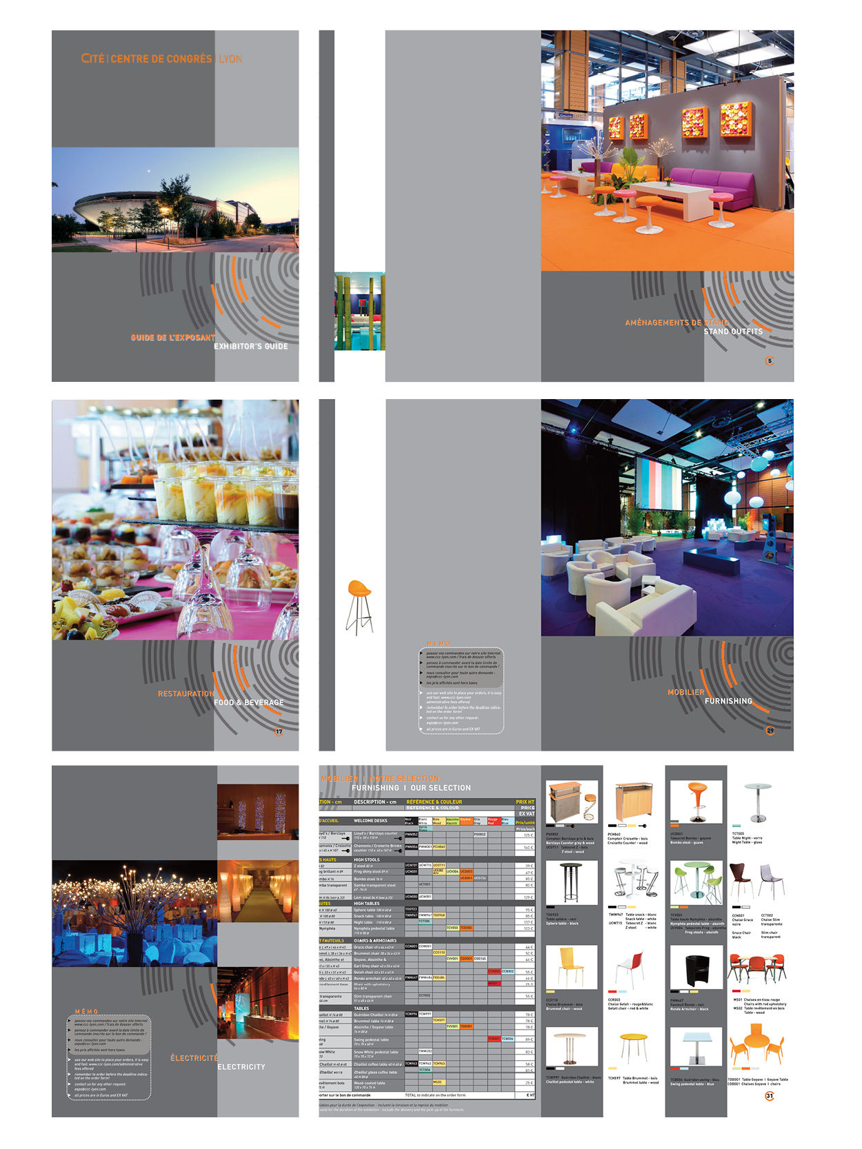 Guide de l'Exposant bilingue - Catalogue de 44 p.