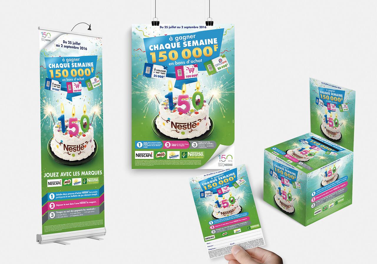 Campagne Nestlé 100 Ans