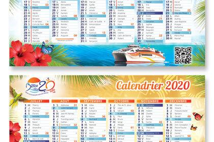 """Calendriers 2020 """"Le Bético"""""""