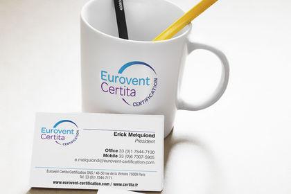 Identité visuelle Eurovent Certita Certification
