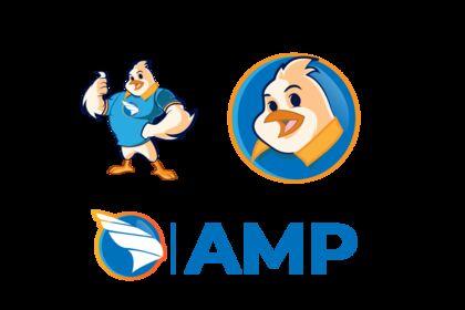 AMP - Logo et mascotte