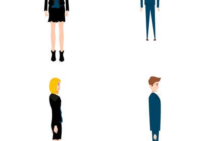Développement des personnages, animatimation