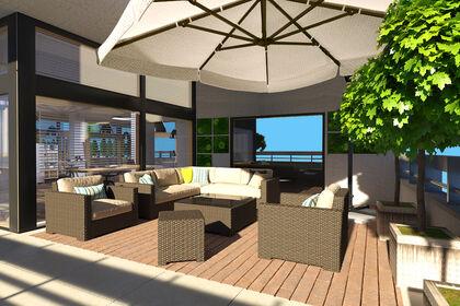 3D Aménagement, Terrasse, location lieux