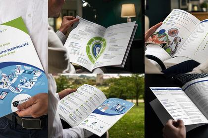 Mise en page, catalogue de logiciel médical