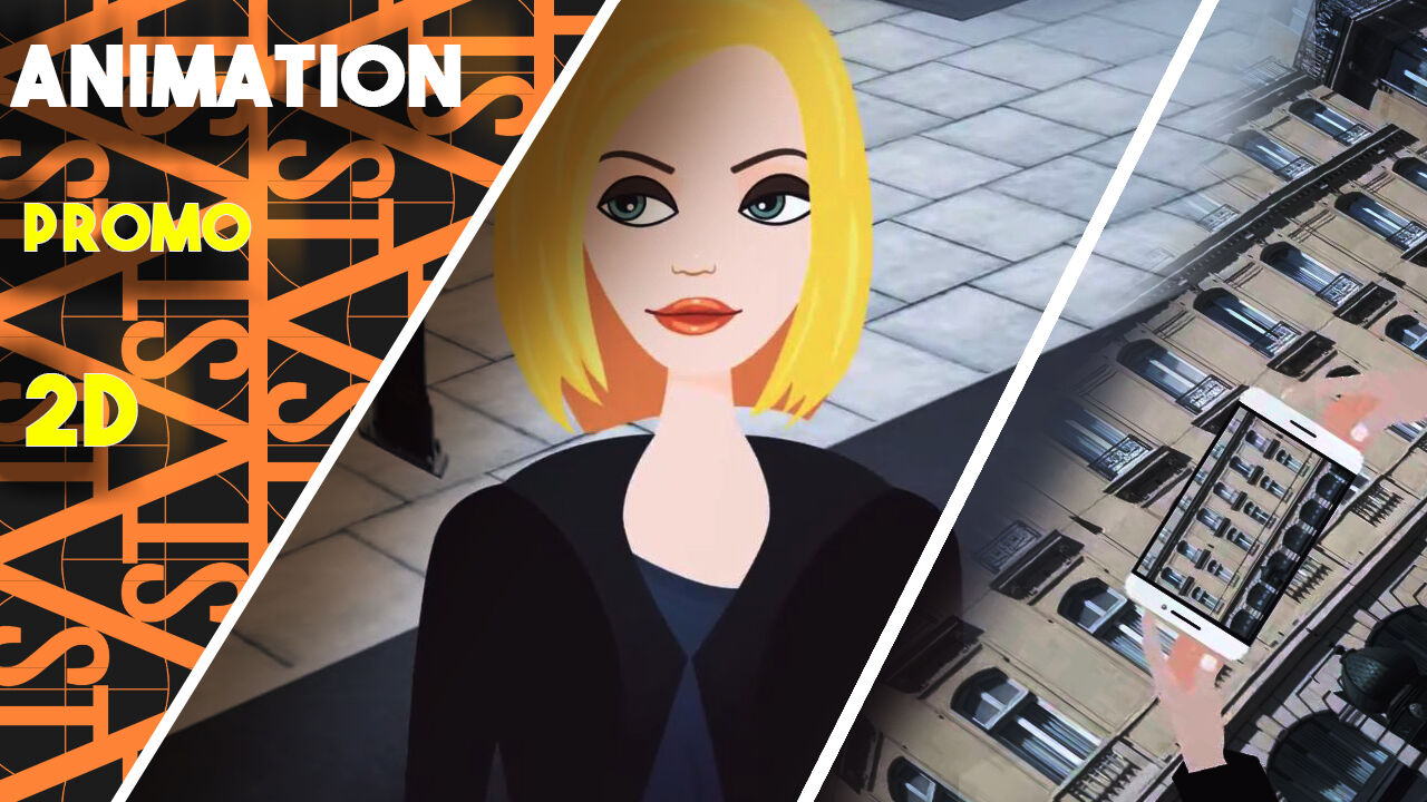 Animation, agence Immobilier