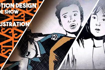 Creation de slide show après les dessins