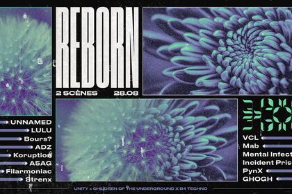 Reborn 28.08 - Bannière facebook