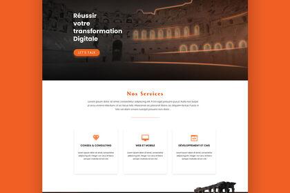 Design site web