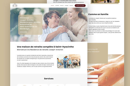 Refonte site web en wordpress