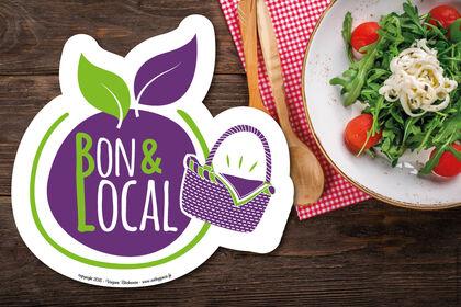 Création de logo - produits locaux