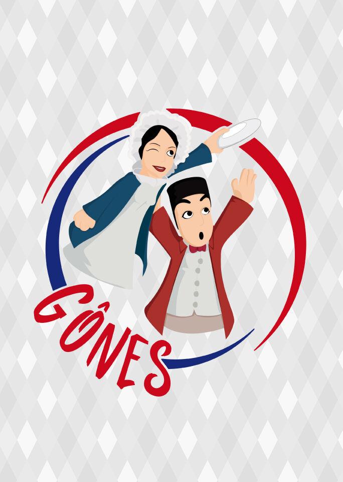 Club d'Ultimate des Gônes - Design du logo