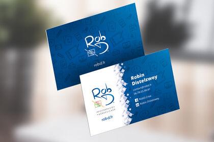 RobD - Design de cartes de visite