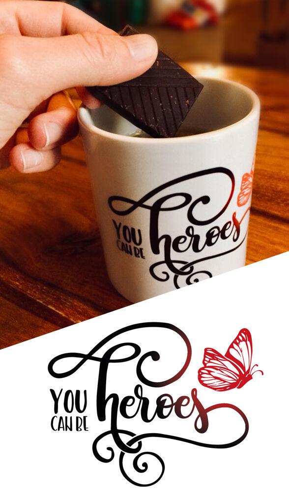 You Can Be Heroes - Design de logo