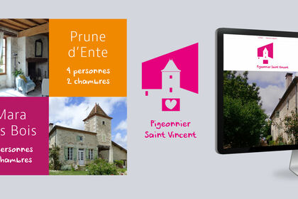 "Design site internet ""gîte"""